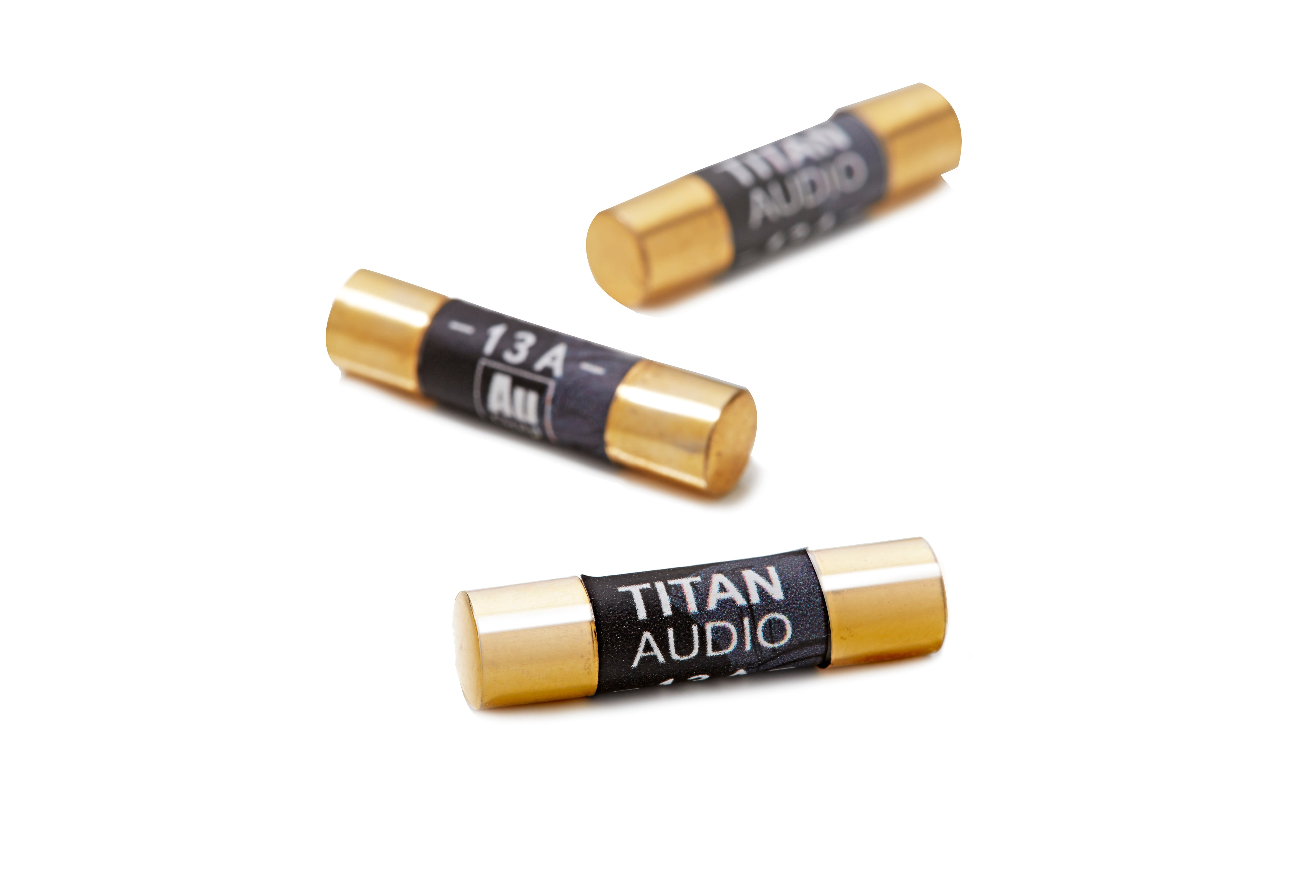 Titan Audio Gold Plated Audio Grade Fuses 13a