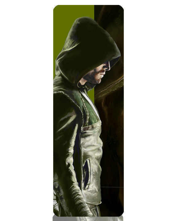 Arrow Scarface Series Metal Bookmark