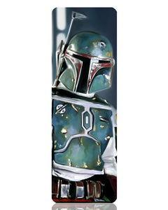 Boba Fett Metal Bookmark
