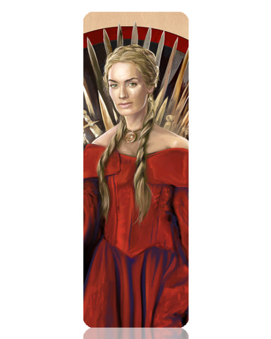 Cersei Lannister Metal Bookmark