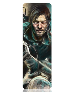 Daryl Dixon Metal Bookmark