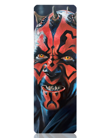 Darth Maul Metal Bookmark