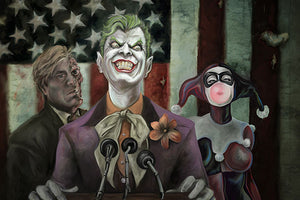 "Limited Edition Print on Canvas ""Three Ring Circus"""