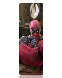 Deadpool X-Box Metal Bookmark