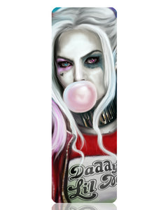 Harley Quinn Metal Bookmark