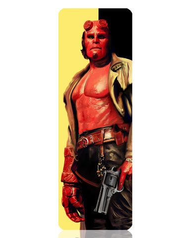 Hellboy Metal Bookmark
