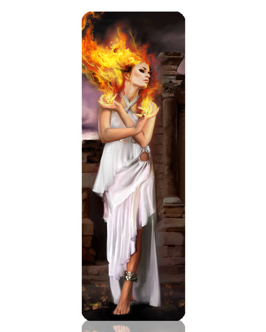 Hestia Metal Bookmark