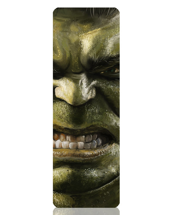 Hulk Metal Bookmark