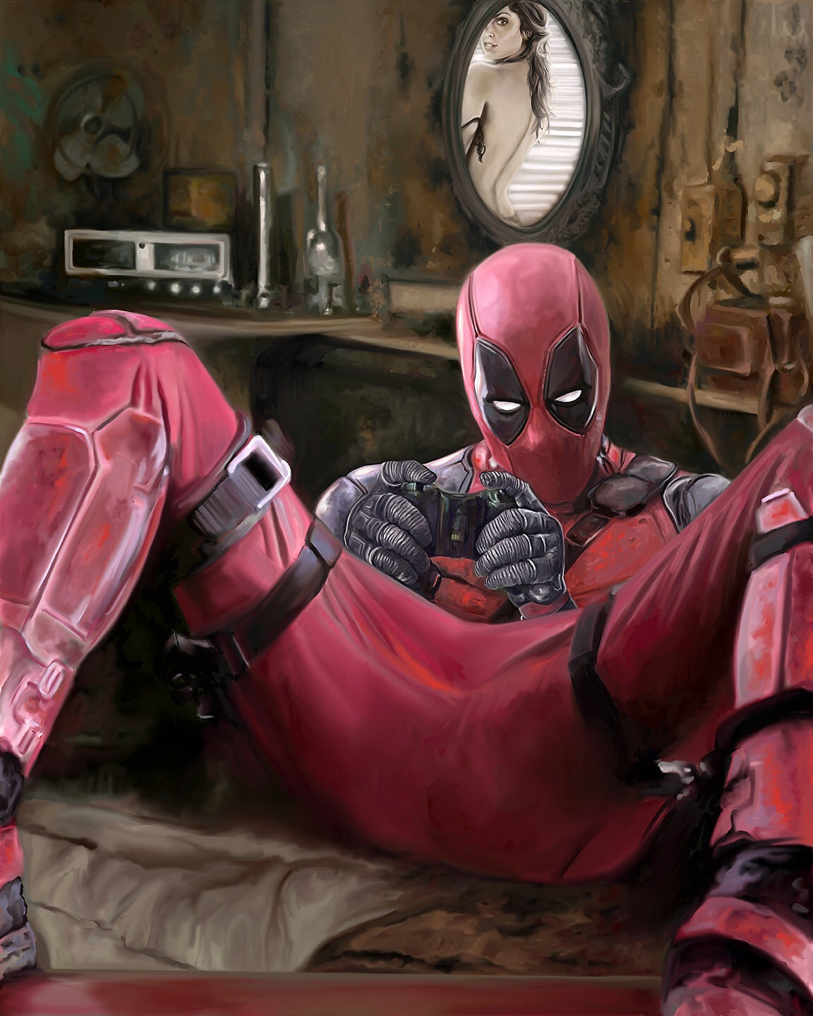 Deadpool X-Box Print