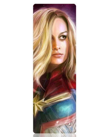 Captain Marvel Metal Bookmark