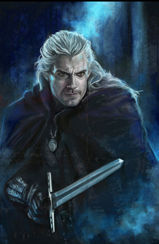 The Witcher Geralt of Rivia Print