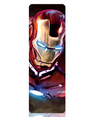 Iron Man Metal Bookmark