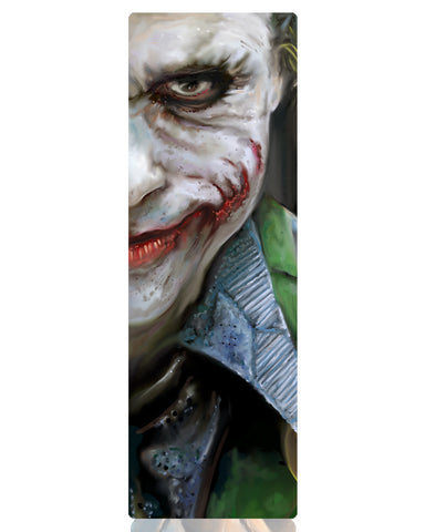Joker Staredown Metal Bookmark