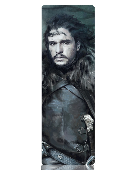 Jon Snow Metal Bookmark