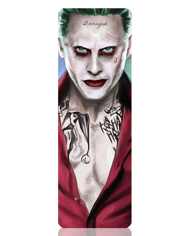 Suicide Squad Joker Metal Bookmark