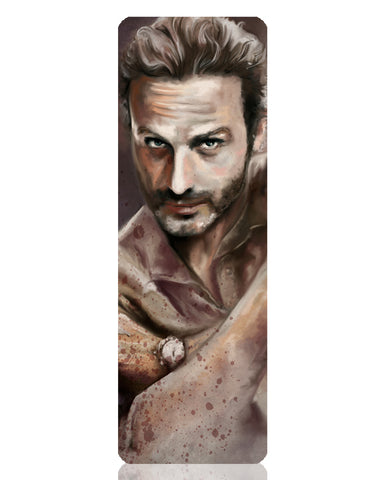 Rick Grimes Metal Bookmark
