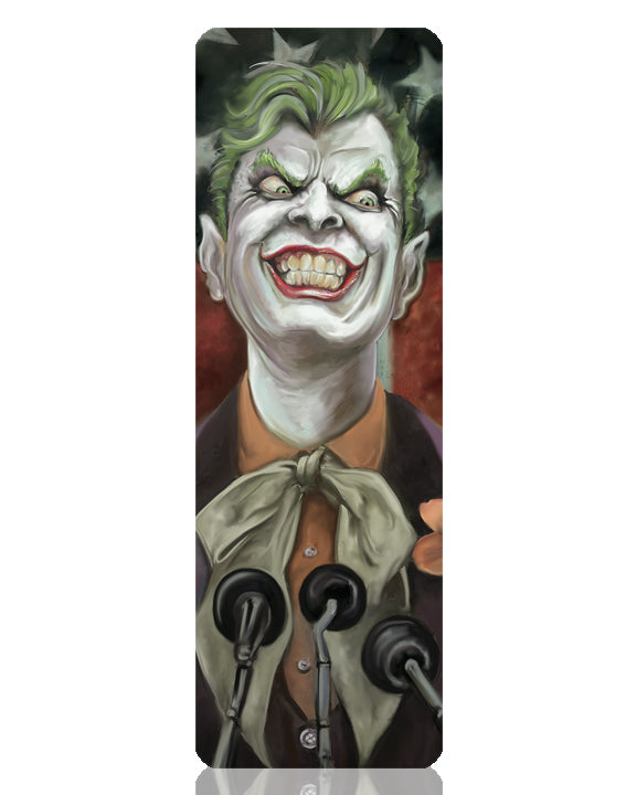 Joker Metal Bookmark