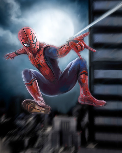 Spiderman Print