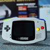 Grey customized sfc gba