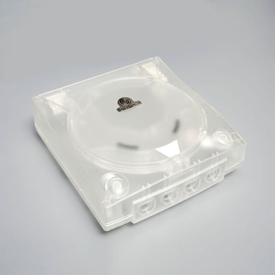 CLEAR WHITE DREAMCAST REPLACEMENT SHELL
