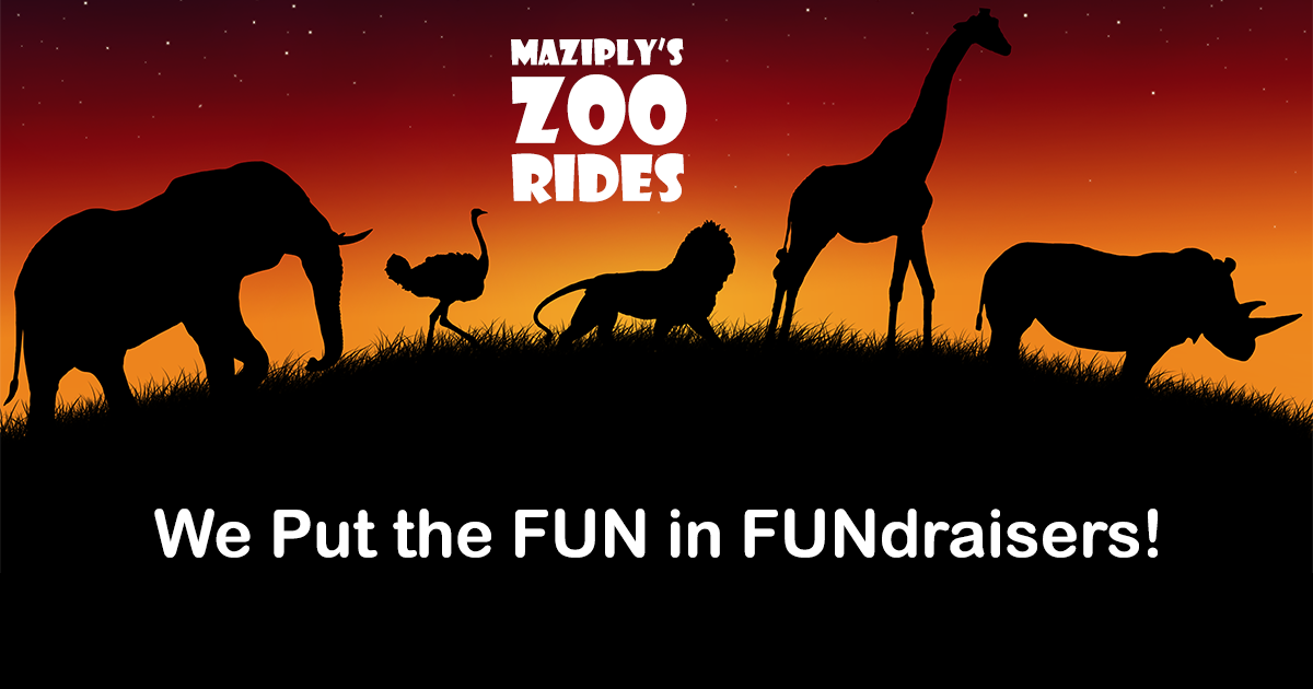 Fundraising at Zoo Rides in Kingston MA