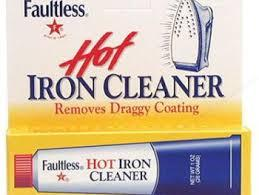 Iron Cleaner Faultless Hot