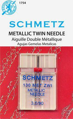 SCHMETZ METALLIC TWIN 3.0/90