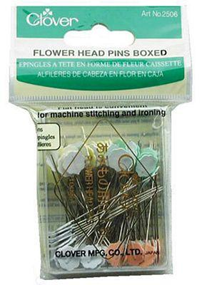 FLOWER HEAD PINS