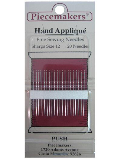 Hand Applique Sharps Sz12