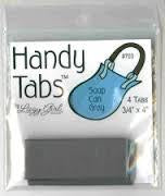 HANDY TABS-SOUP CAN GRAY