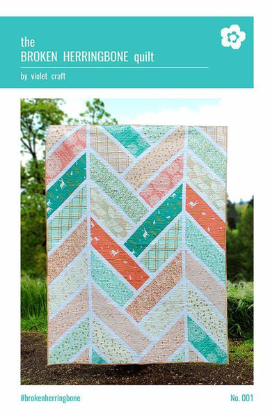 THE BROKEN HERRING BONE QUILT