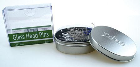 Glass Head Pins NN