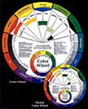 ENGLISH COLOR WHEEL 9IN