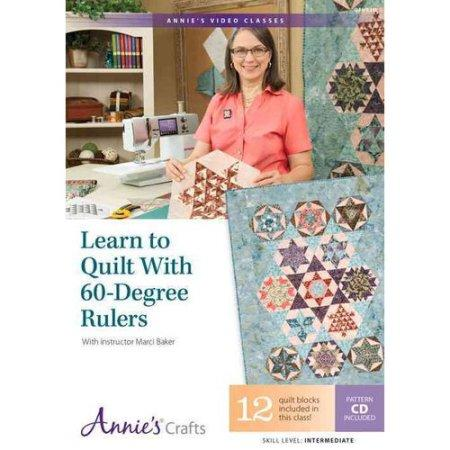 LEARN TO QUILT 60 DEG RULR DVD
