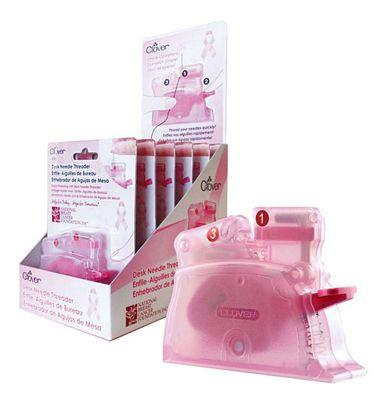 Pink Desk Needle Threader