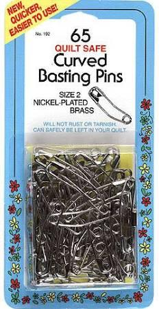 CURVED BASTING PINS