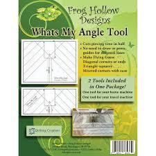What's My Angle Tool