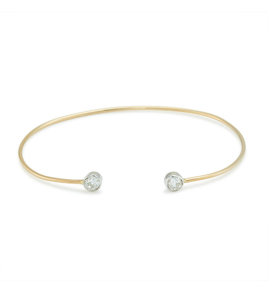Diamond hug (yellow gold)