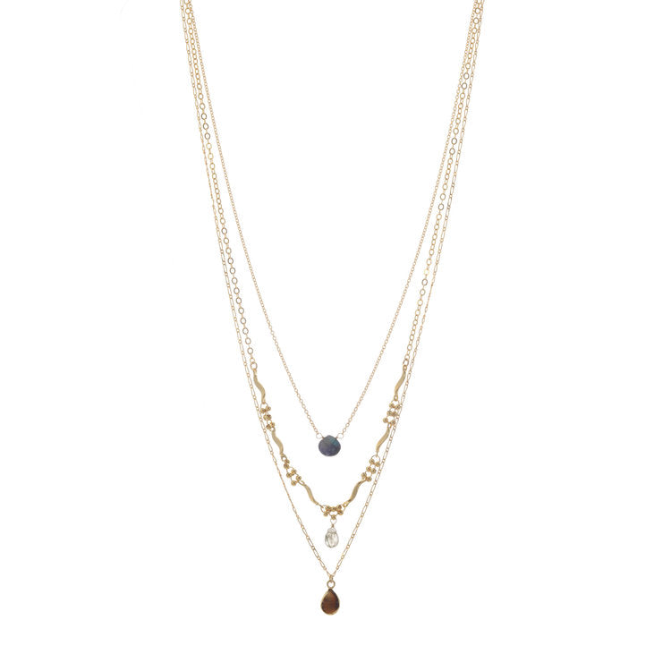 A.V. Max Midnight Layered Necklace