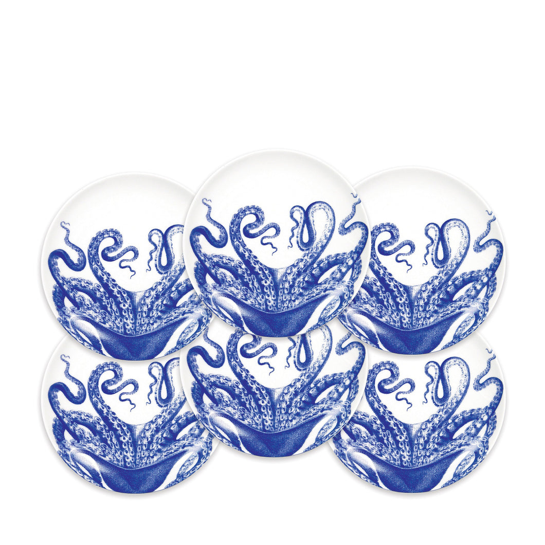 Blue Lucy Canapé Plate