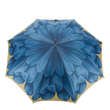 Pasotti Umbrella - Blue Dahlia - Womens