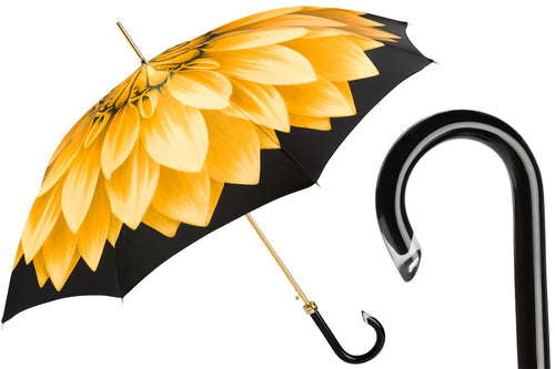 Pasotti Umbrella - Gold Dahlia - Womens