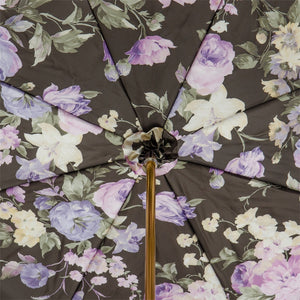 Pasotti Umbrella - Lilac Flowers - Womens