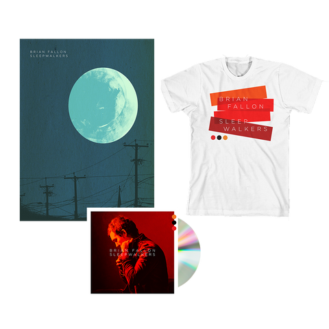 Sleepwalkers CD + Poster + T-Shirt