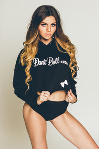 Dani Doll Original Cropped College Hoodie   'Loud and Proud'