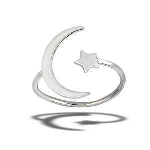 Cresent Moon and Star - Large