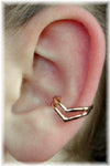 Double Chevron - Ear Cuff