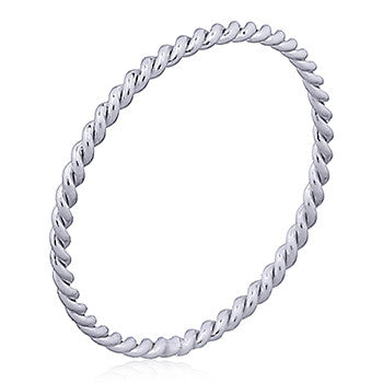 Delicate Twist  - Stacking Ring