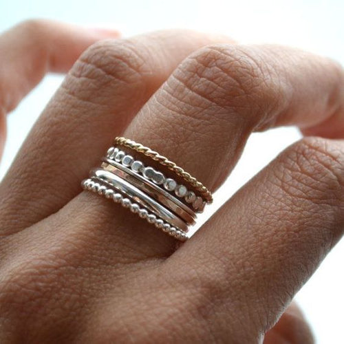 Flat Bead- Finger/Thumb Ring