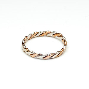 Twist - Two Toned Ring